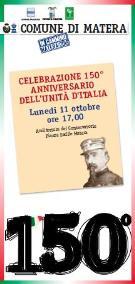 150° anniversario dell'Unità d'Italia - Matera