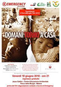 DOMANI TORNO A CASA - Matera