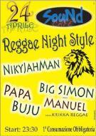 Reggae night stile - Matera