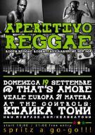 Aperitivo Reggae 19 settembre 2010 - Matera