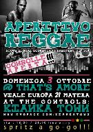 Aperitivo Reggae 3 ottobre 2010 - Matera