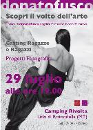 Casting Donato Fusco - 29 luglio 2010 - Matera