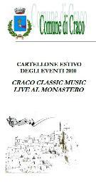 Craco Classic Music Live al Monastero - Matera
