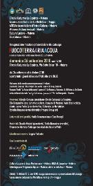 FuocoTerraAriaAcqua - Programma