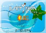 Happy hour Lido Planet Beach - Matera