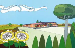 L'Istituto Tecnico Agrario di Matera e i suoi campi: opera di Michele Martinelli - Matera