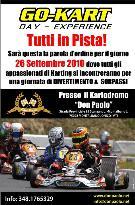 Kartodromo Don Paolo 26 settembre 2010 - Matera