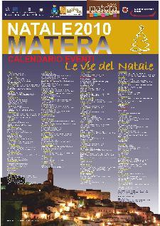 Le vie del Natale 2010 - calendario eventi - Matera