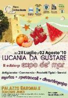 Lucania da gustare - Expo de' mar 2010 - Matera