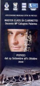 Master Class di Clarinetto - Matera