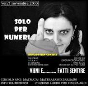 Matmatà 5 novembre 2010 - Matera