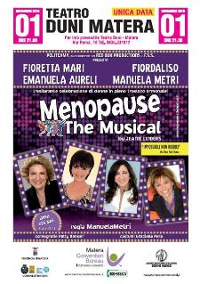 Menopause The Musical - Teatro Duni - Matera