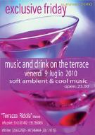 Music and drink on the terrace - Matera