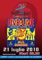 Musica Live al camping Rivolta - Matera