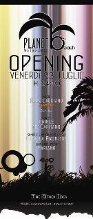 OPENING SUMMER 2010 - Planet beach - Matera