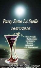 PARTY SOTTO LE STELLE - Matera