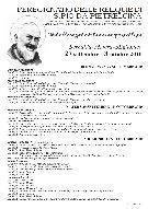 Peregrinatio delle Reliquie di S. Pio da Pietralcina - Matera
