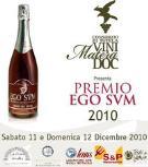 PREMIO EGO SVM 2010 - Matera