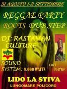 Reggae Party - Lido La Stiva - Matera