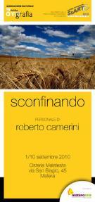 Sconfinando - Roberto Camerini - Matera