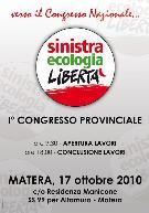 Sinistra Ecologia Libertà - Congresso - Matera