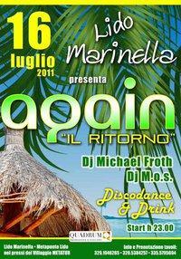 AGAIN - il ritorno - 16 luglio 2011