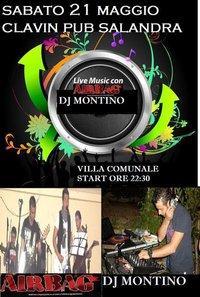AiRbAg LIVE + Dj Montino - 21 maggio 2011