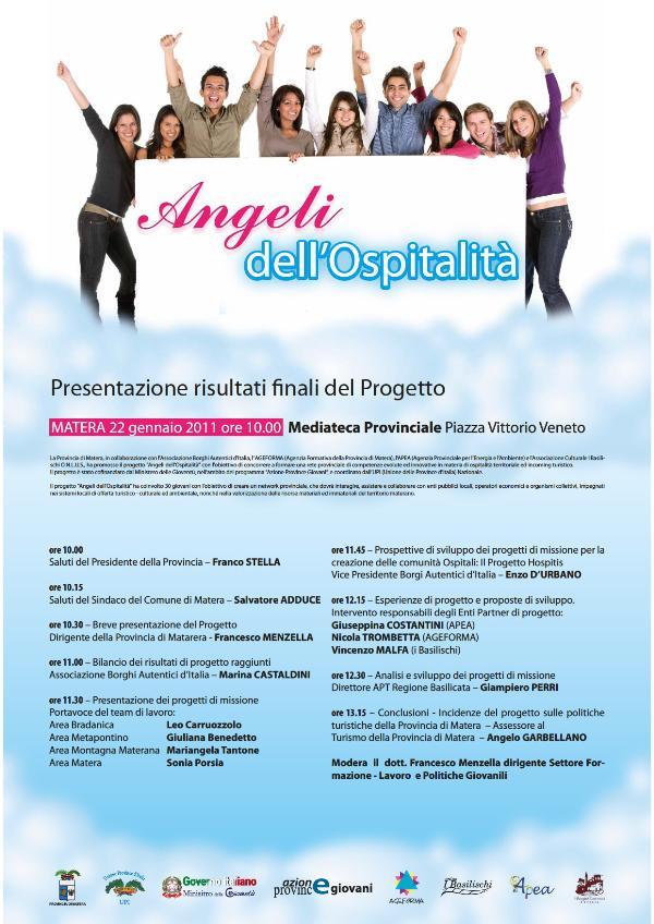 Angeli dell´Ospitalità - 22 gennaio 2011