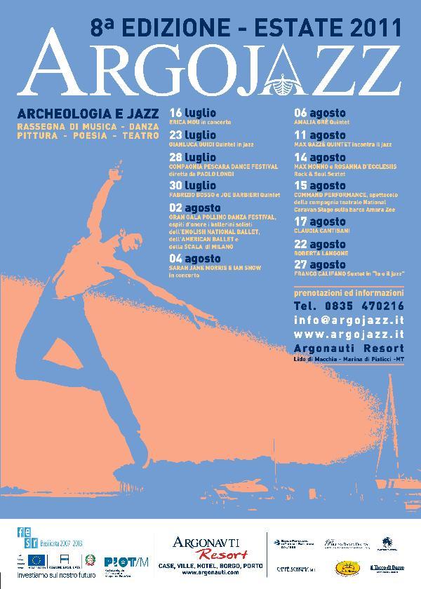 Argojazz 2011 - dal 16 luglio al 27 agosto 2011