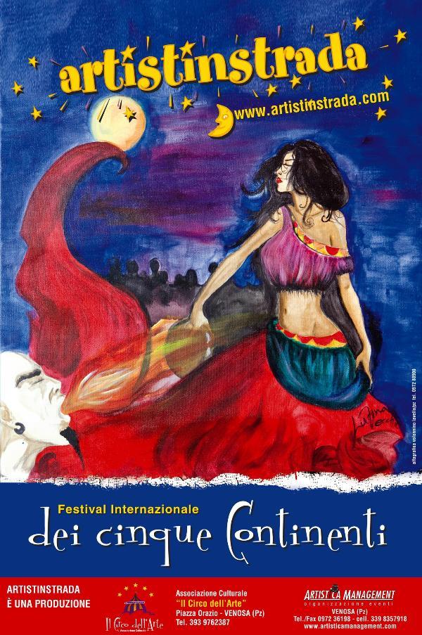 Artistinstrada 2011: il Festival Internazionale Dei Cinque Continenti