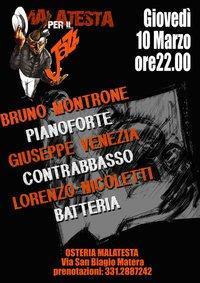 Bruno Montrone Trio al Malatesta per il Jazz