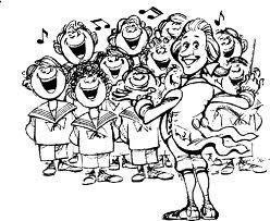 Canta con noi evento musicale concerto matera - Chorale dessin ...