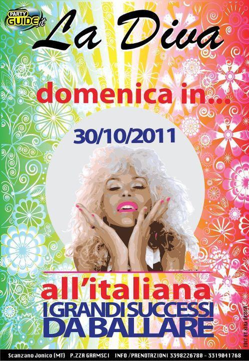DOMENICA IN...ALL´ITALIANA - 30 ottobre 2011