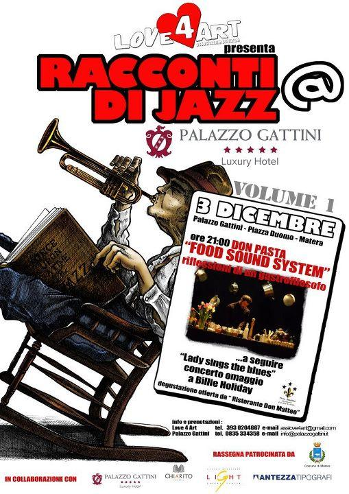 Don Pasta a Matera - Racconti di Jazz - 3 dicembre 2011