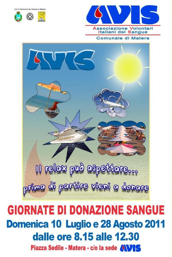 Giornate di donazione - Avis