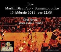 King Purple - Marlin Bleu