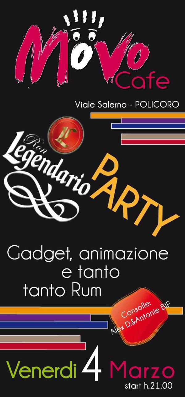 Legendario Party - Movo Cafe