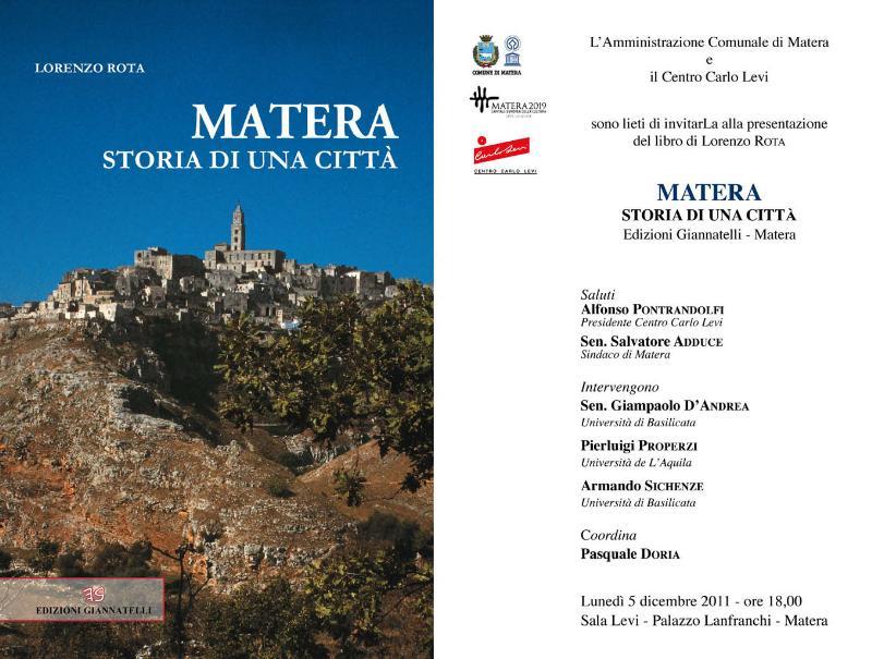 Matera - Storia di una città - 5 dicembre 2011