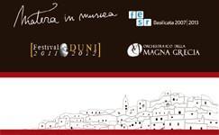 Matera in Musica 2011 / 2012