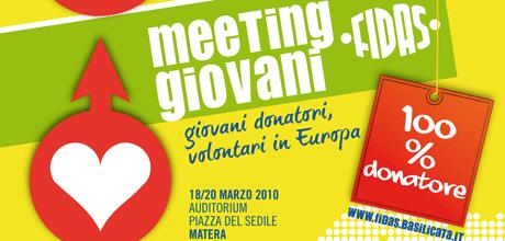 MEETING GIOVANI FIDAS