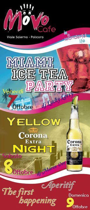 Miami Ice Tea Party