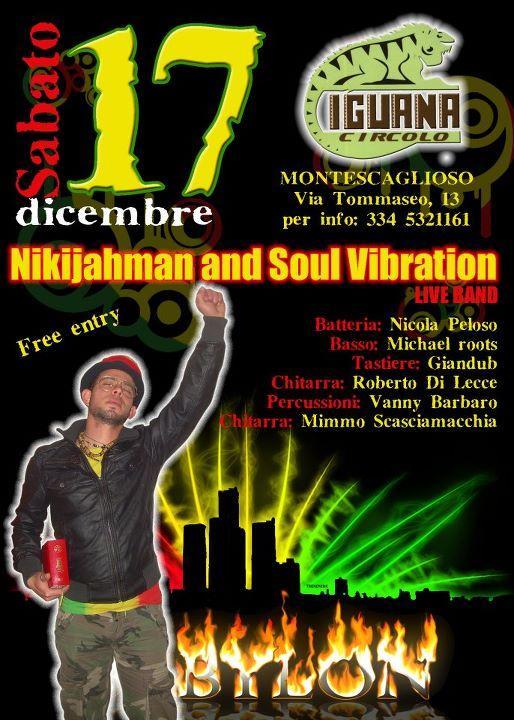 Nikyjahman & Soul Vibration