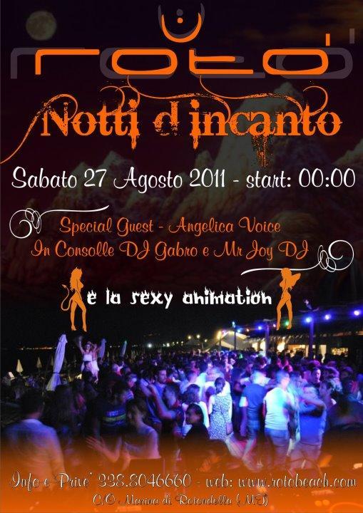Notti d´incanto - 27 agosto 2011