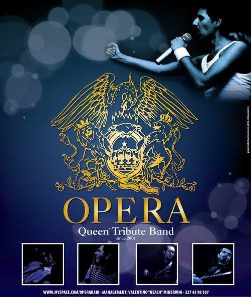 OPERA, Queen Tribute Band - 10 aprile 2011