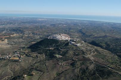 Panorama di Rotondella (MT)