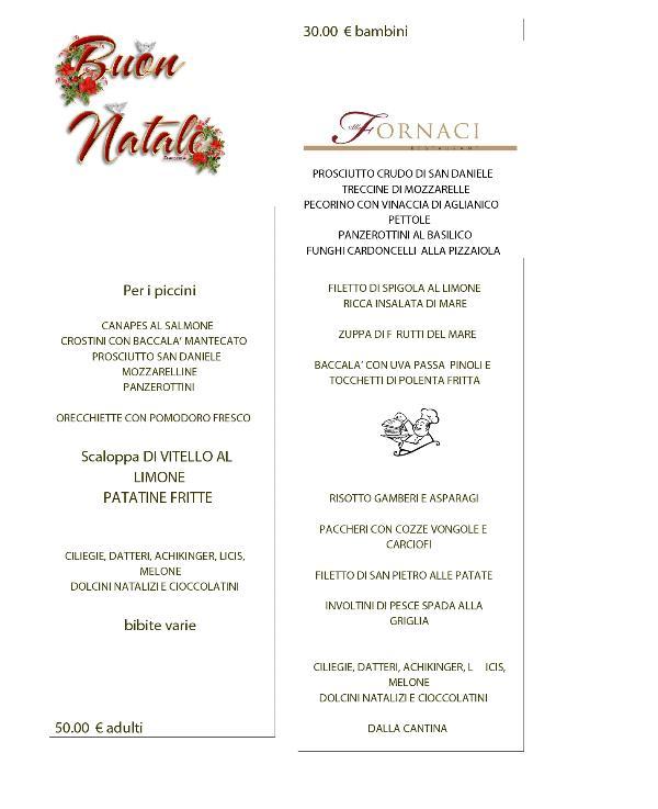 Pranzo di Natale 2011 a Le Fornaci