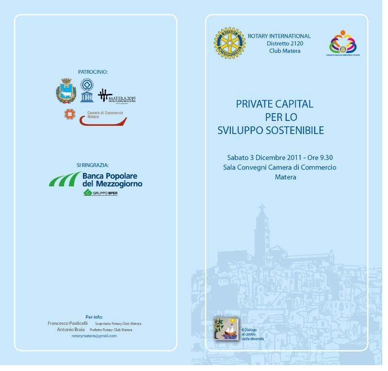 Private capitale per lo sviluppo sostenibile - 29 novembre 2011
