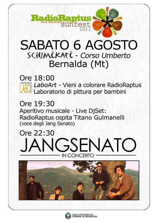 RadioRaptus SunFest 2011 - 6 agosto 2011