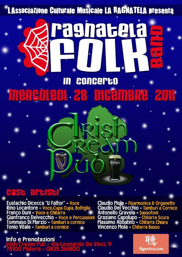 Ragnatela Folk Band  - 28 dicembre 2011