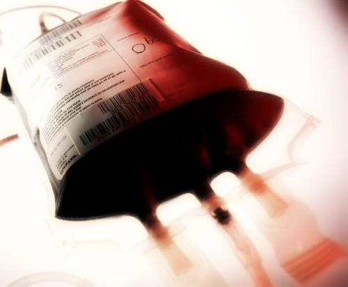 Sacca di sangue per trasfusioni